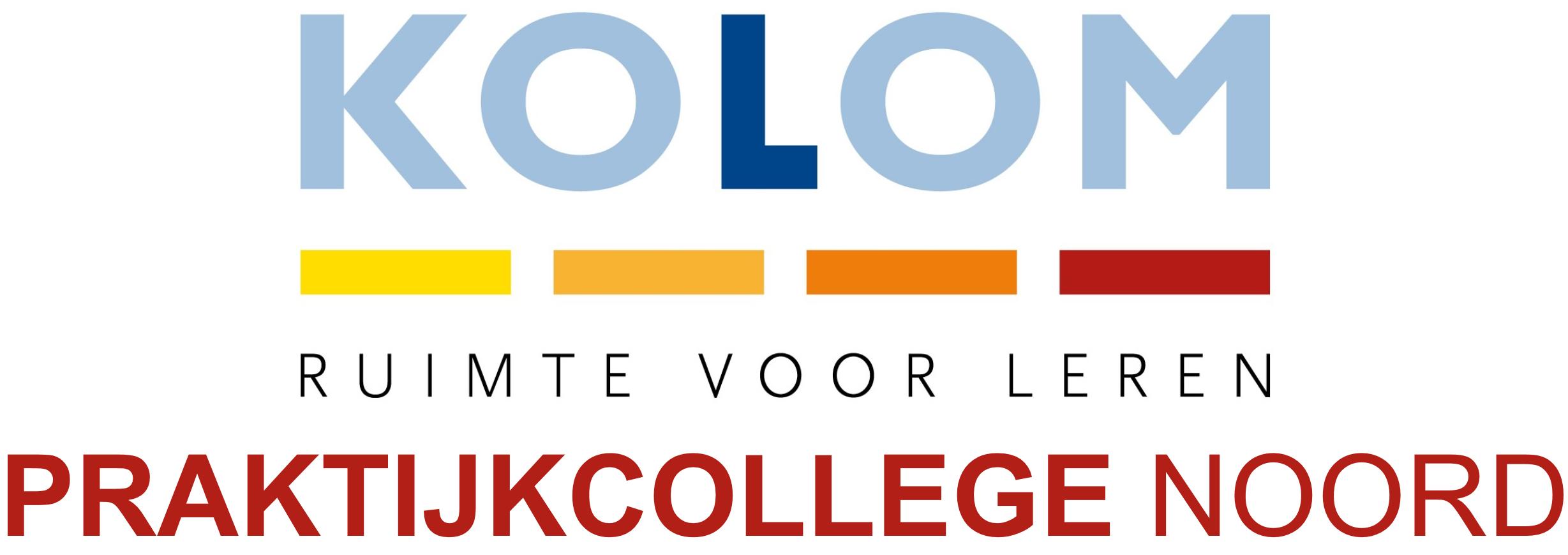 Kolom praktijkcollege Noord logo