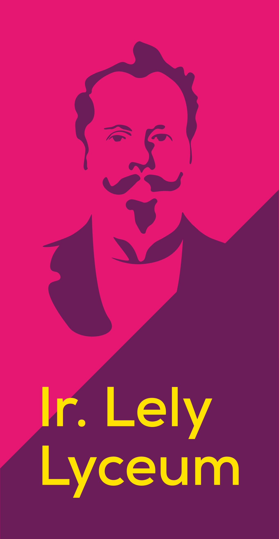 Ir. Lely Lyceum logo