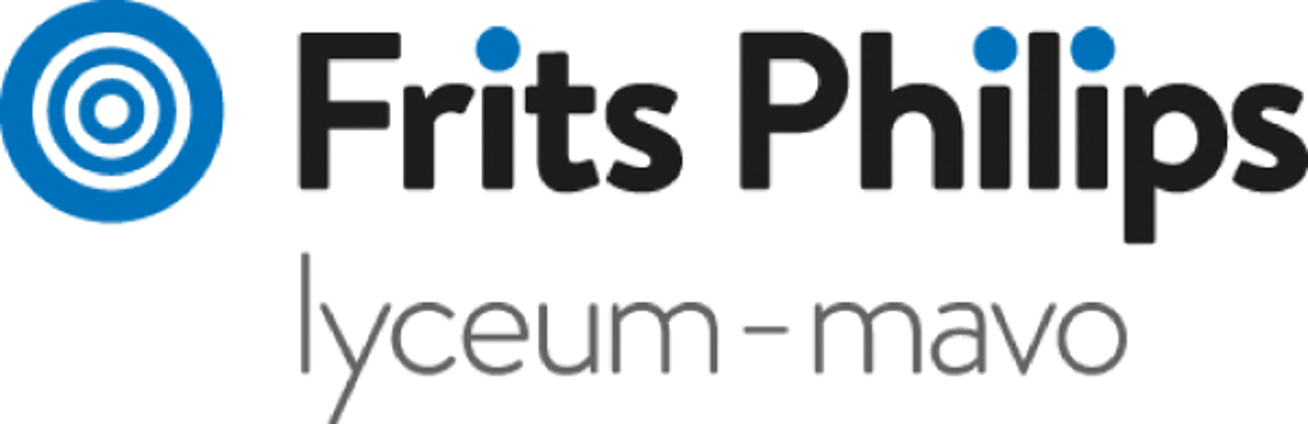Frits Philips lyceum-mavo logo