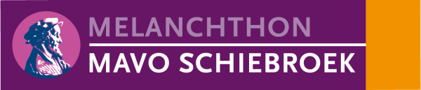 Melanchthon Mavo Schiebroek logo