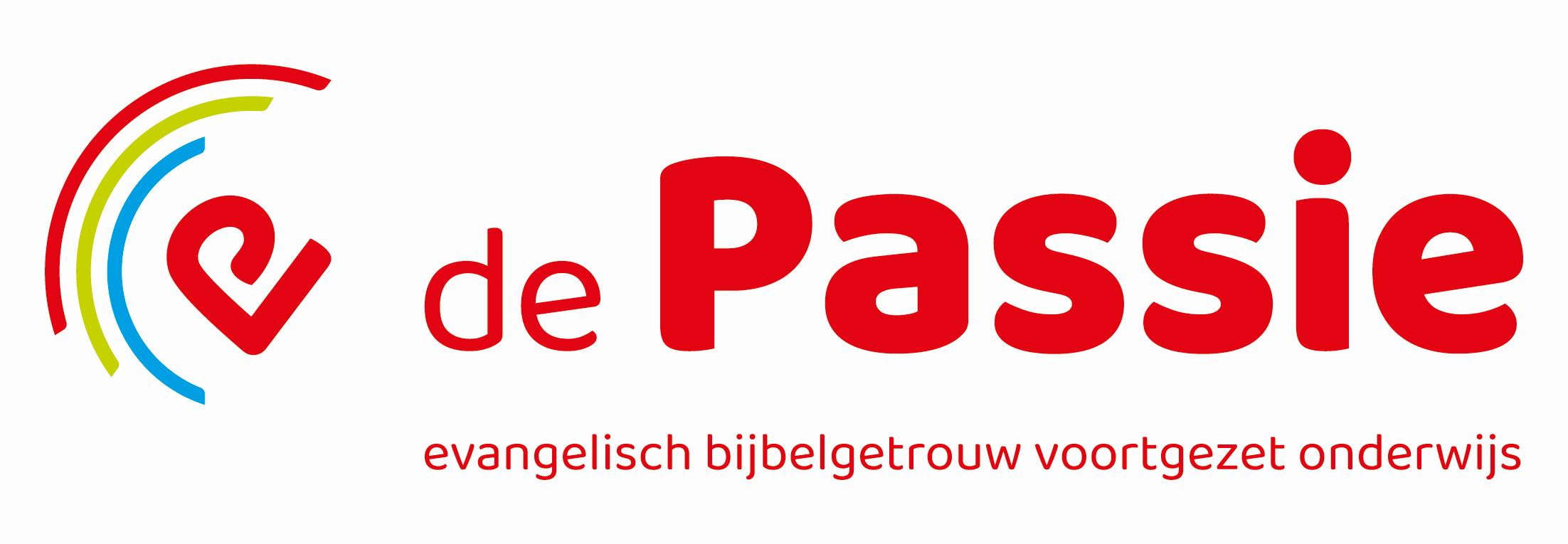 De Passie, evangelisch bijbelgetrouw onderwijs logo