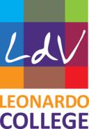 Leonardo College logo